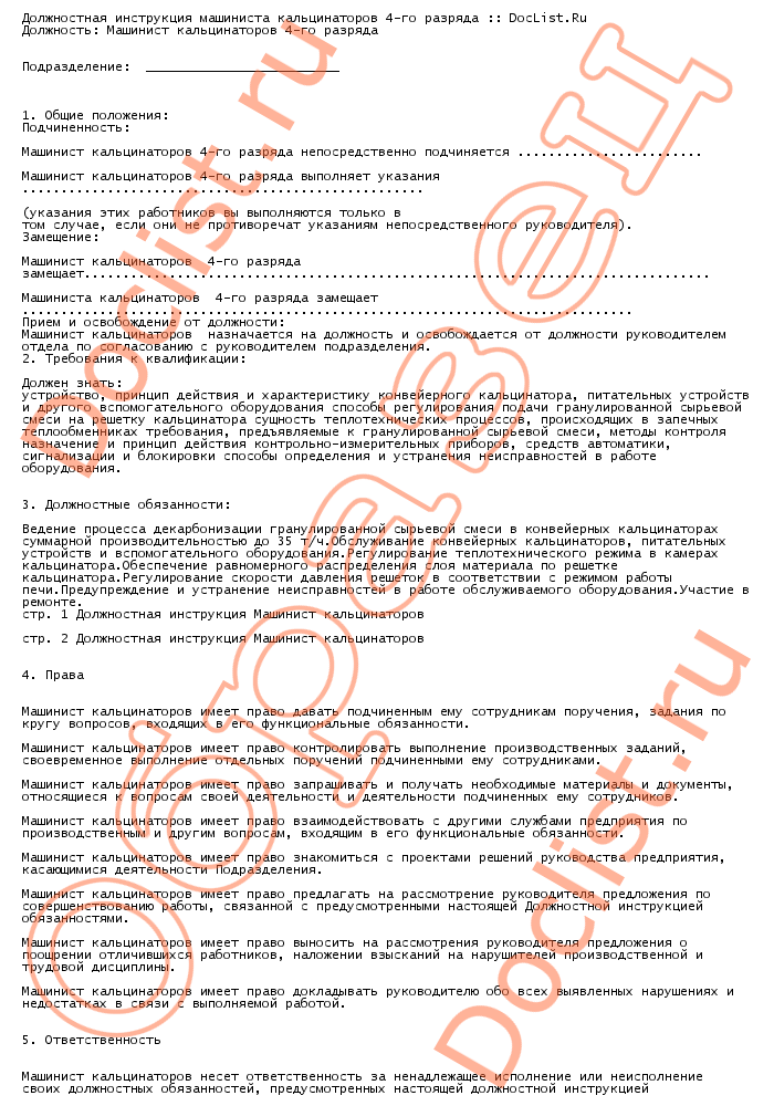 Должностная Инструкция Директора Лпу Мг